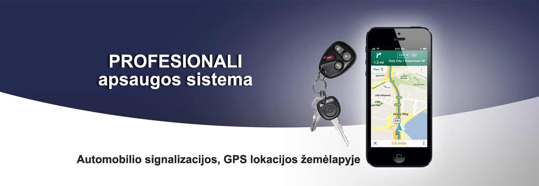 Profesionali apsaugos sistema