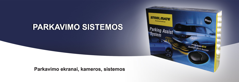 Parkavimo sistemos
